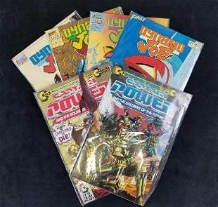 Lot of 6 Captain Power And Dynamo Joe Comics