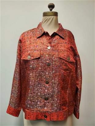 Christine Modern Thomson Button Down Shirt SizeL