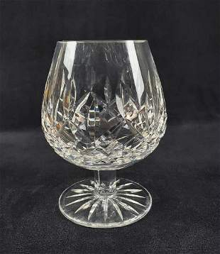 Unique Waterford Crystal Archive Brandy Goblet