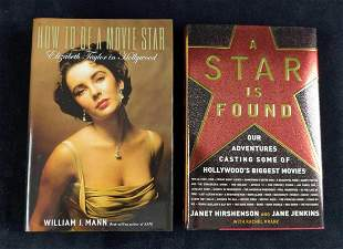 Hardcover Hollywood Books Lot Of Two