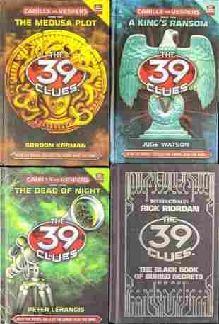 The 39 Clues Cahills Vs Vespers 4 Hardcover Books