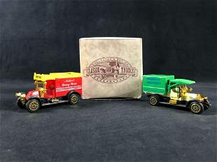 Collection Set Of Classic Trucks 1912 Model T Tanker