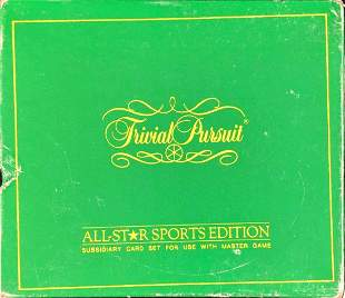 Trivial Pursuit All-Star Sports Edition Addon 1981