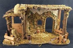 Fitz And Floyd Large Nativity Scene Creche