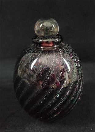 Vintage Unique Glass Perfume Bottle