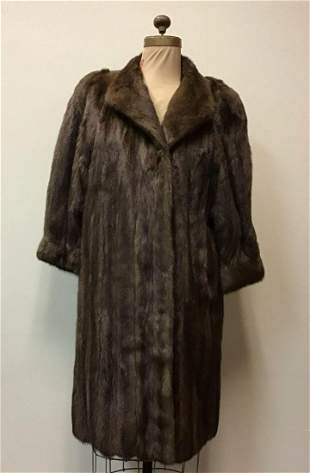 Lunaraine Mink Fur Coat Jacket Vintage Fashion