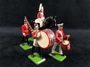 Vintage W. Britain 1988 England Metal Toy Soldiers