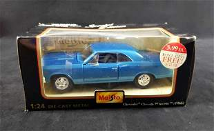 Maisto Chevrolet SS396 1 24 Die Cast Metal Car