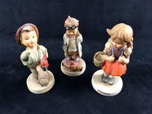 Vintage Hummel Figurines Happy Children Lot Of Three