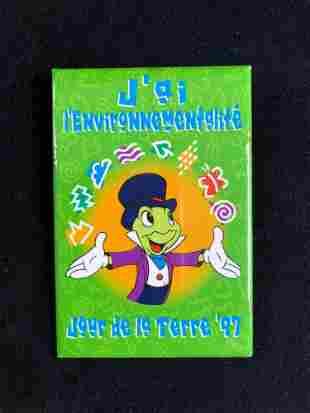 Huge Lot of 265 Disneyland Jiminy Cricket 1997 French