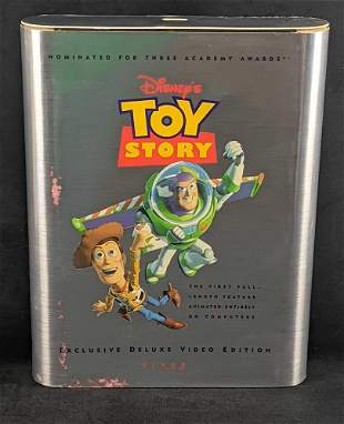 Disney Toy Story Exclusive Deluxe Video Edition VHS