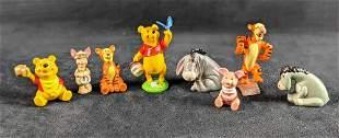 Assorted Disney Winnie The Pooh PVC Figures Lot Of 8
