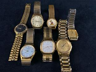 Mixed Lot Of Vintage Watches Repair / Parts