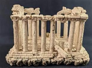 Large Roman Ruins Aquarium Decoration Stone Resin
