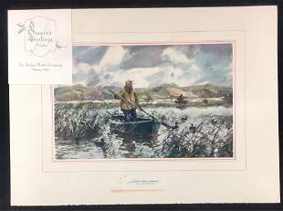 John Whorf Watercolor Print