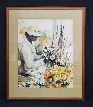 Magaret Petterson Limited Edition Watercolor Print