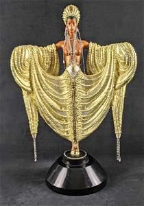 Erte Bronze Sculpture Radiance AP LE Art Deco W3