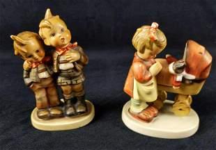 3 Vintage Goebel Hummel Cute Animals Figurines
