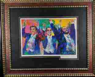 Hand Signed The Three Tenors by LeRoy Neiman W3