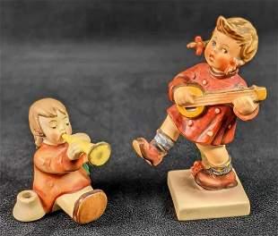 Goebel Hummel Figurines Happiness And Trumpet Joyous
