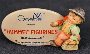 Vintage Goebel Hummel Merry Wanderer Sign TMK-5