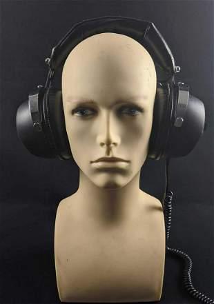 Vintage Alaron B 56 Stereo Radio Headphones
