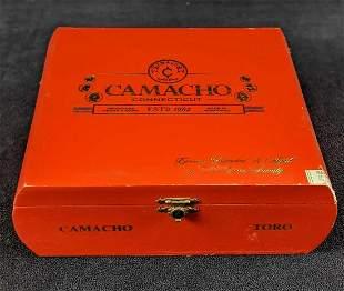 Honduras Camacho Toro Wooden Cigar Box