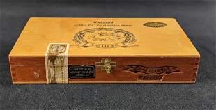 Panama Rothschild Jose Llopis Wooden Cigar Box