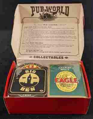 100 Authentic British Pub World Coasters Beer D