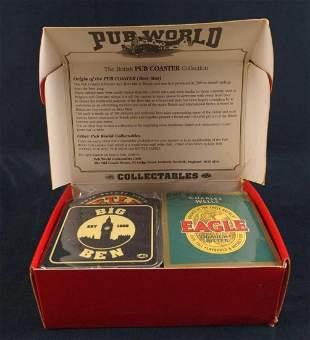 100 Authentic British Pub World Coasters Beer E
