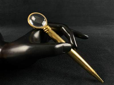 Cartier Limited Edition 290/1000 Gold Plated Ballpoint
