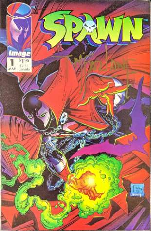 Signed First Issue Of Spawn Signed By Todd McFarlane