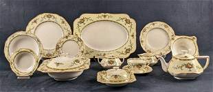 Vintage Retired Crown Ducal Fine Dinnerware Fruit