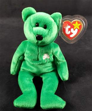Retired Rare Error Ty Beanie Baby Erin
