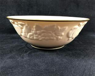 Lenox Ivory Collection Fruits Of Life Bowl Collection