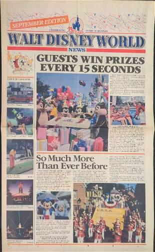 Walt Disney World News 15th Anniversary September