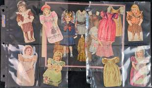 Vintage Victorian Trade Paper Doll Collection
