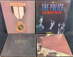 LP Vinyl Records Eagles Chicago Police ELO Classic Rock