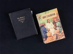 Vintage Religion Books Including The Words of Jesus and