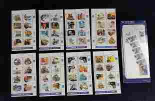 Pioneers Of Flight Stamp Sheets And World Post Kit