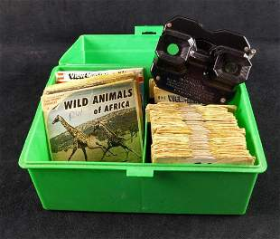 Vintage Sawyers View Master And Over 80 Reels