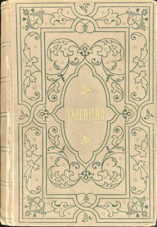 Antique Valentino Hardcover William Waldorf Astor
