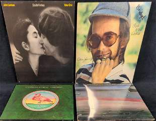 LP Vinyl Records John Lennon Paul McCartney Elton John