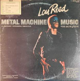 LP Vinyl Record Lou Reed Metal Machine Music Master