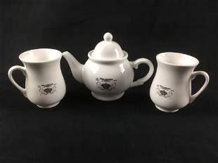 Walkers of London Tea Set Marked