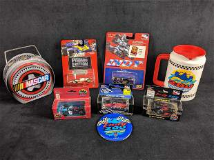 Indy 200 And Nascar Memorabilia Lot of 8