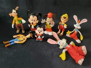 Vintage Disney Figure Toys Roger Rabbit Toy Story