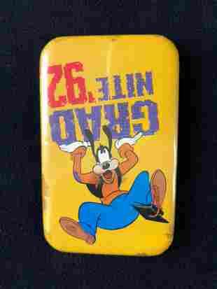 Huge Lot of 462 Goofy Gradnite 1992 Disneyland Pin Back