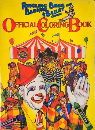 Ringling Brothers And Barnum & Bailey Circus Coloring