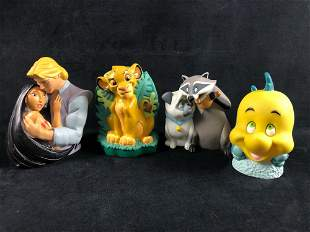 Vintage Lot of Disney characters Dalmatian - Lion King